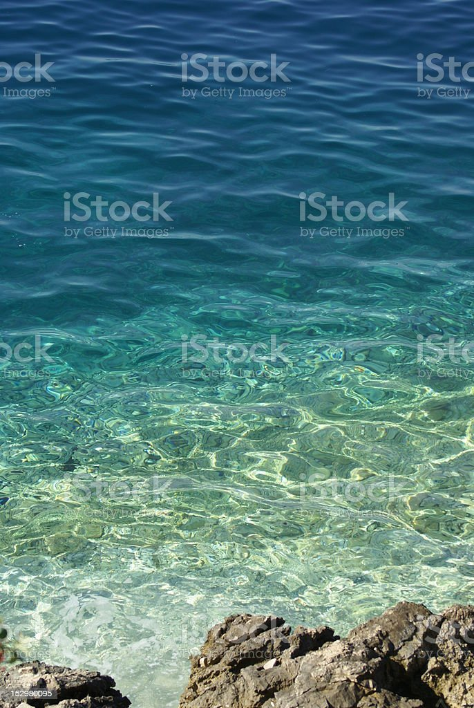Colours of the sea royalty-free stock photo