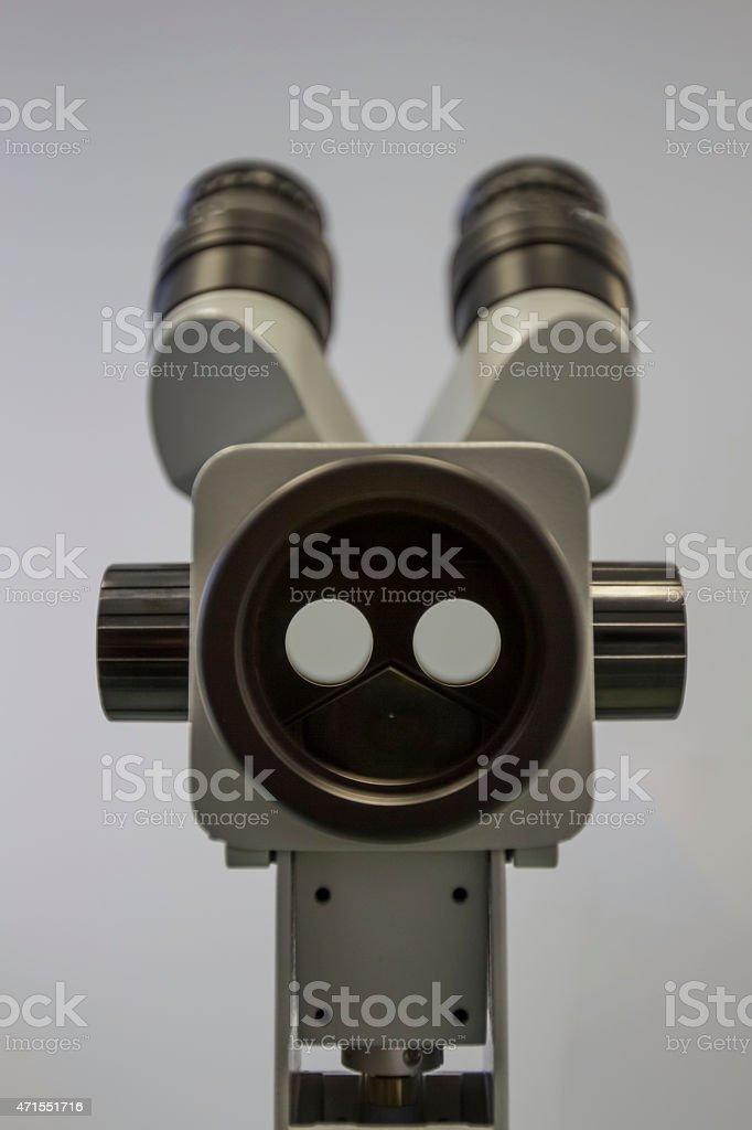 Colposcope stock photo