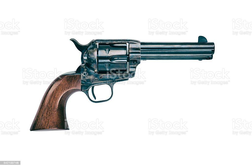 Colt Peacemaker Revolver stock photo