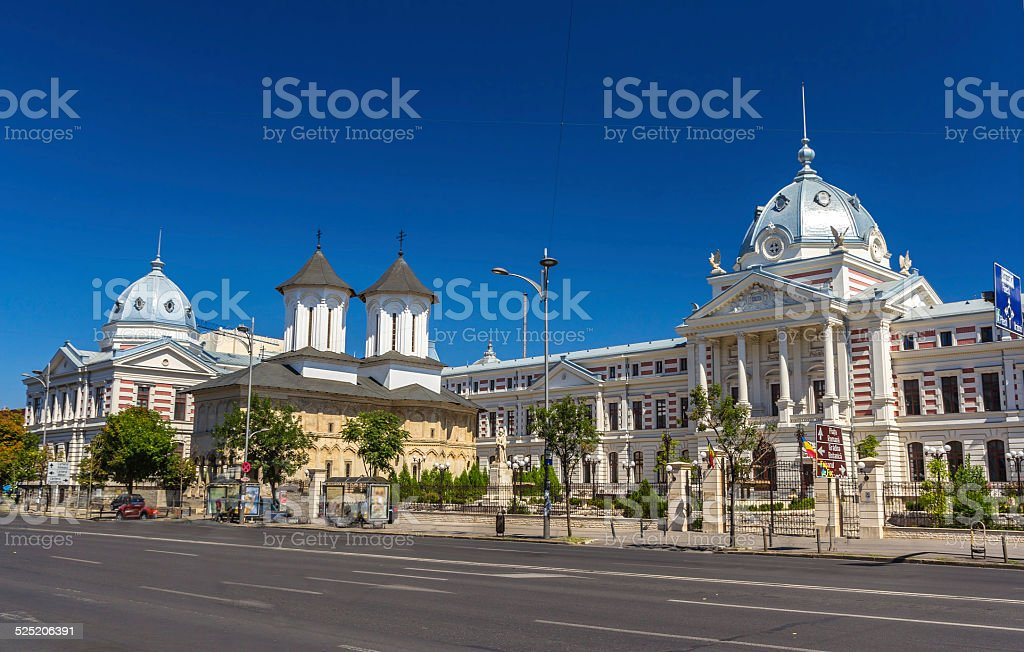 Coltea Hospital in Bucarest - Romania stock photo
