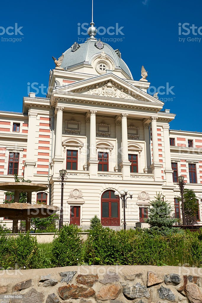 Coltea Hospital in Bucharest stock photo