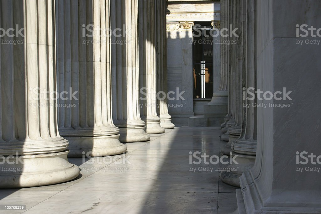 Colum array royalty-free stock photo