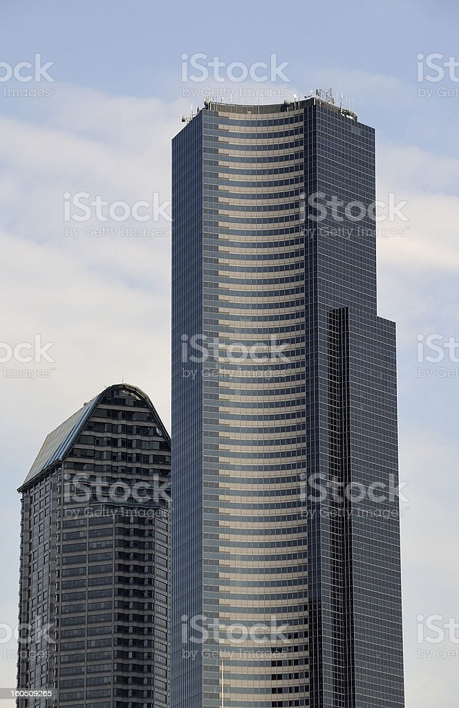 Columbia Center, Seattle royalty-free stock photo