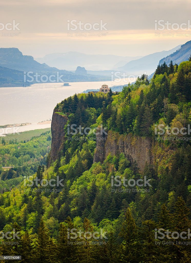 Columbia, Columbia Gorge stock photo
