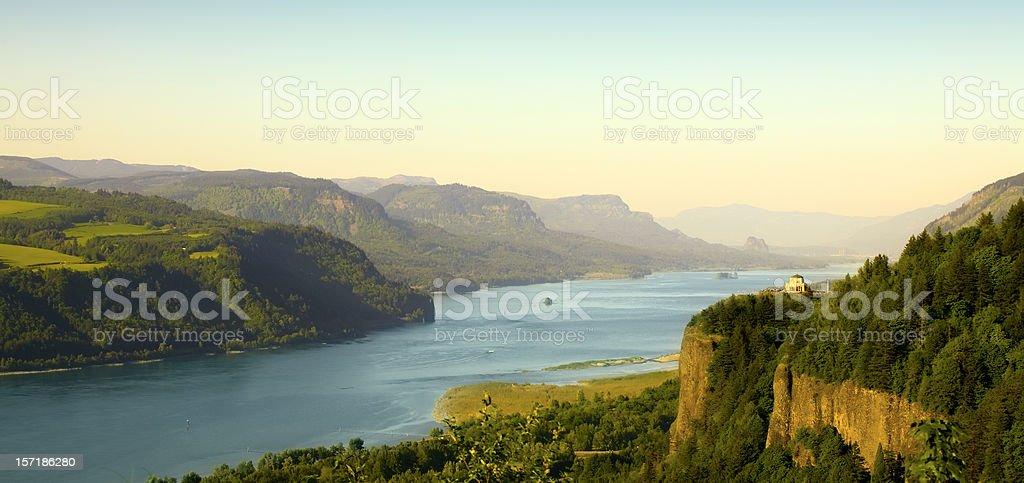 Columbia Gorge stock photo