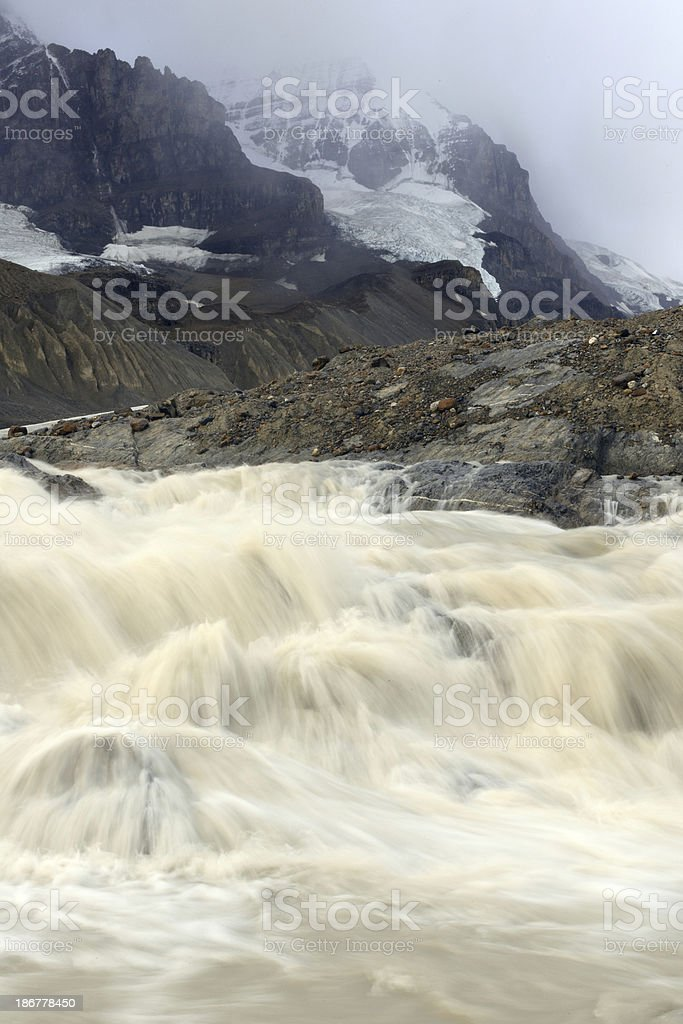 Columbia Icefield royalty-free stock photo