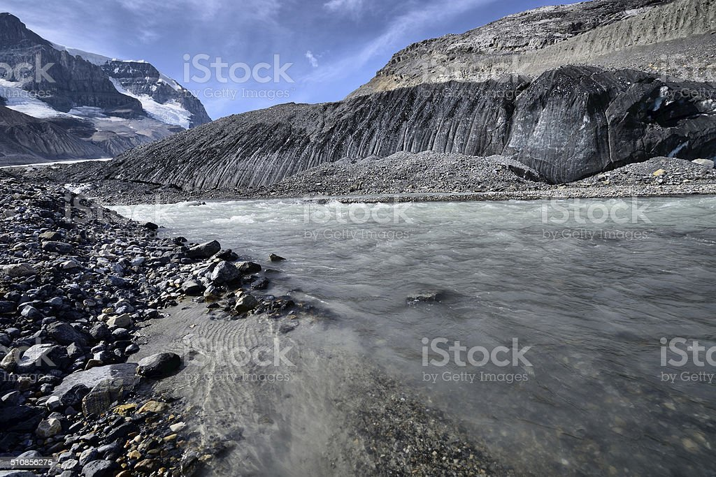 Columbia Icefield stock photo
