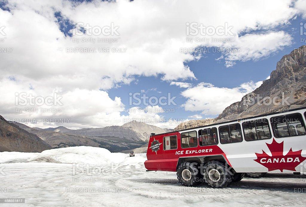 Columbia Icefields stock photo