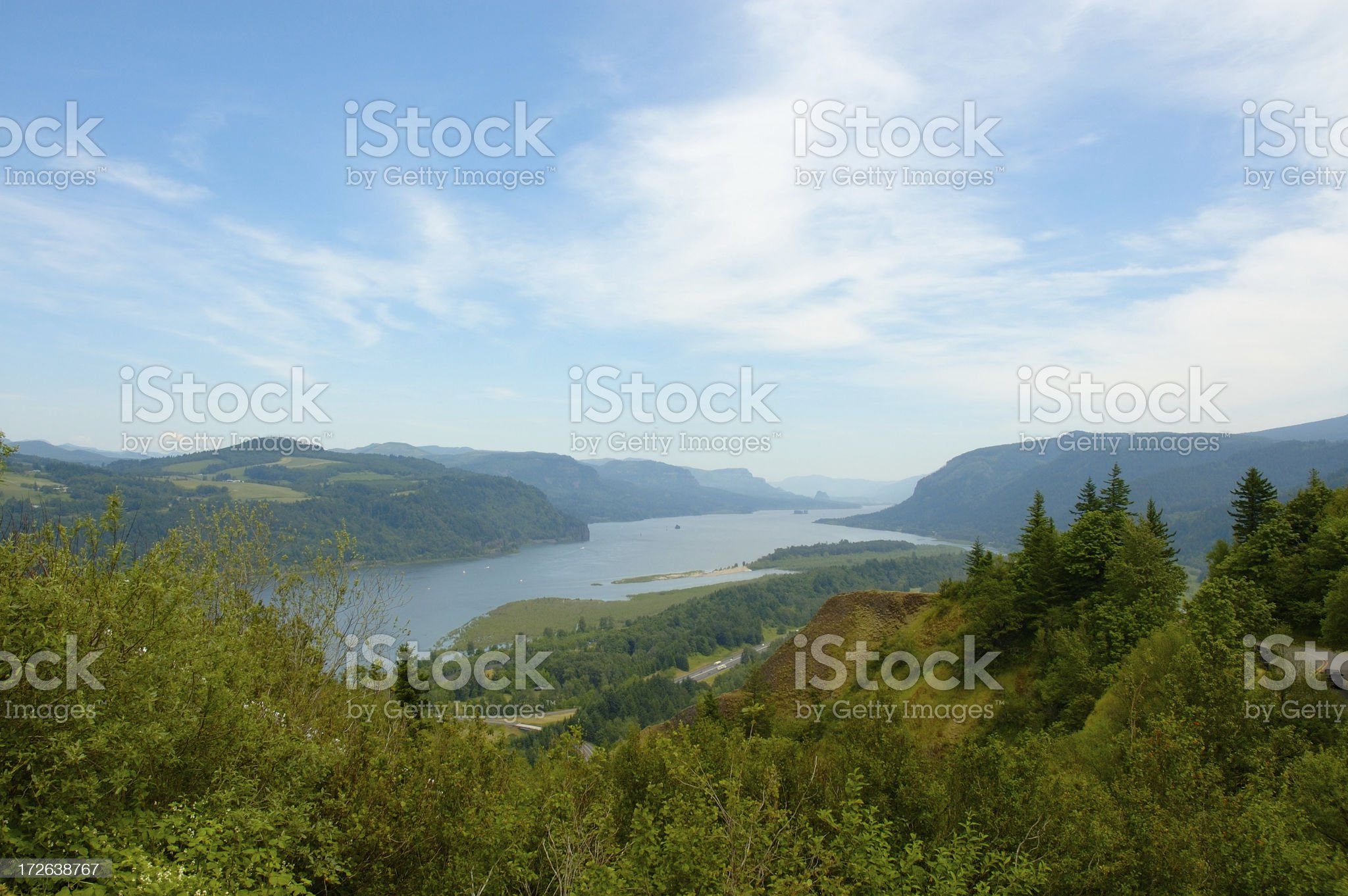 Columbia River Gorge royalty-free stock photo