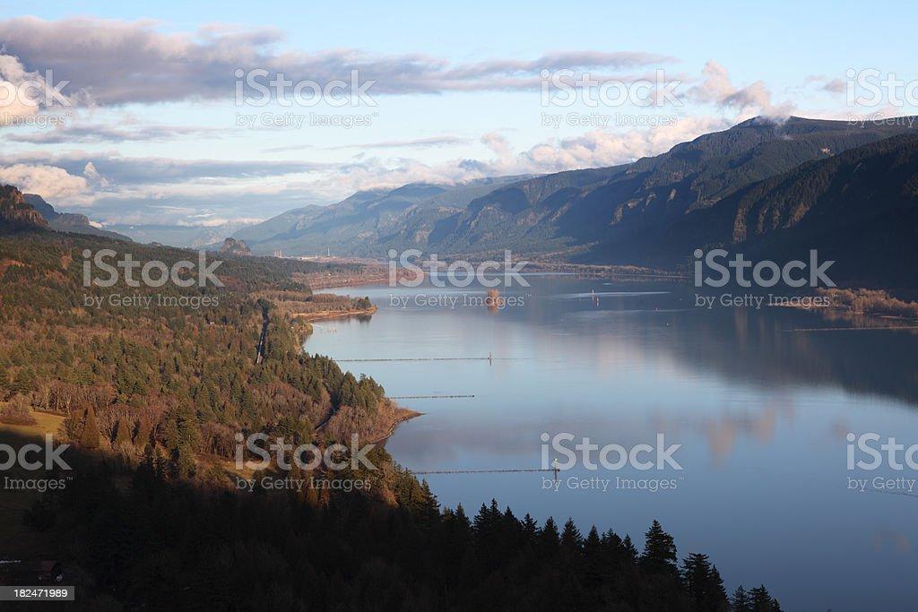 Columbia River Gorge Washington stock photo