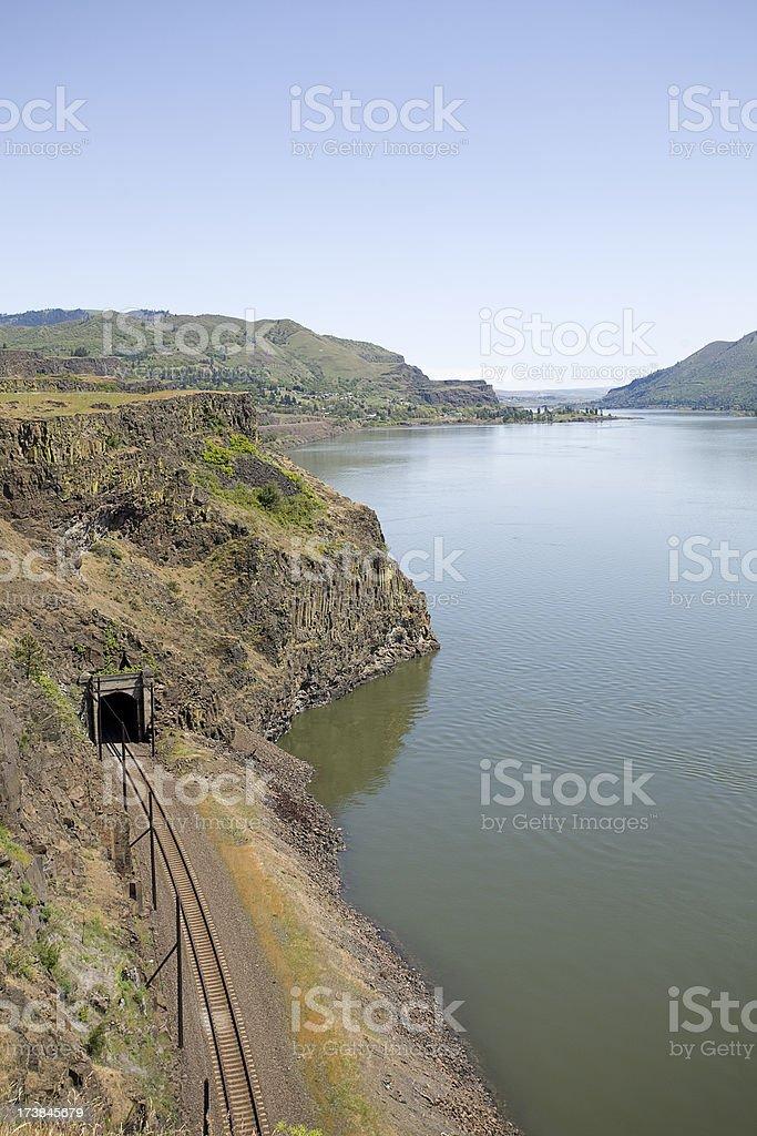 Columbia River stock photo