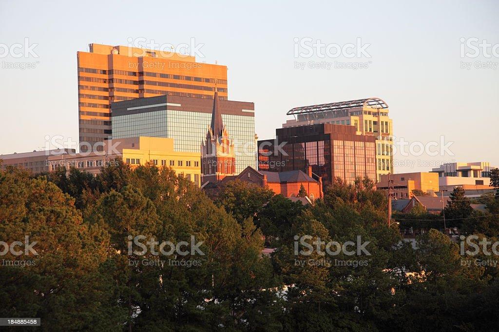 Columbia Skyline royalty-free stock photo