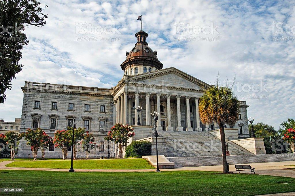 Columbia South Carolina Capitol stock photo
