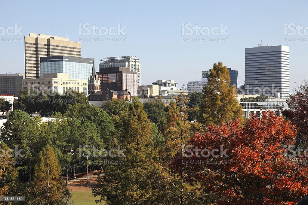 Columbia South Carolina royalty-free stock photo