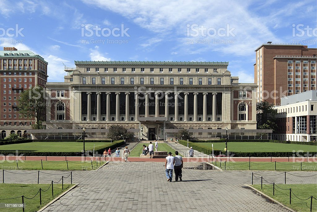 Columbia University - College Walk stock photo