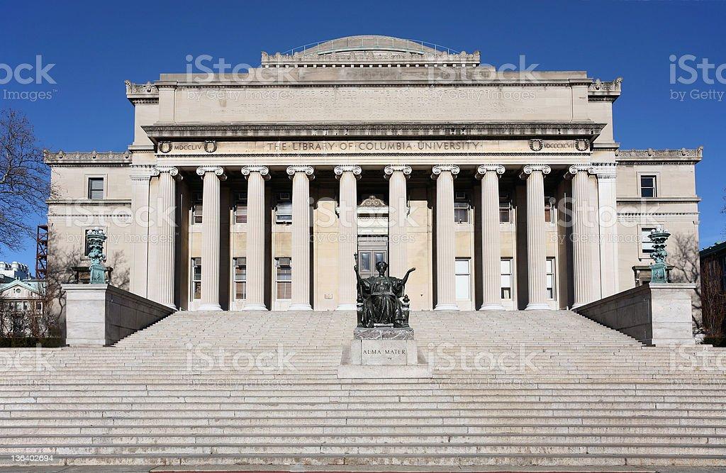 Columbia University Library stock photo