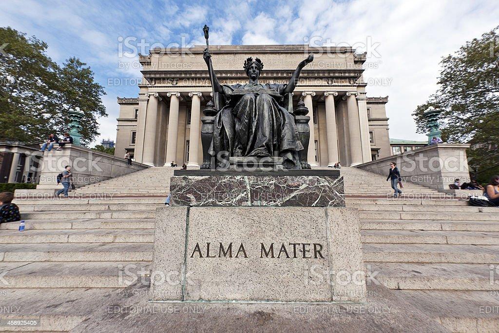 Columbia University New York City # 2 royalty-free stock photo