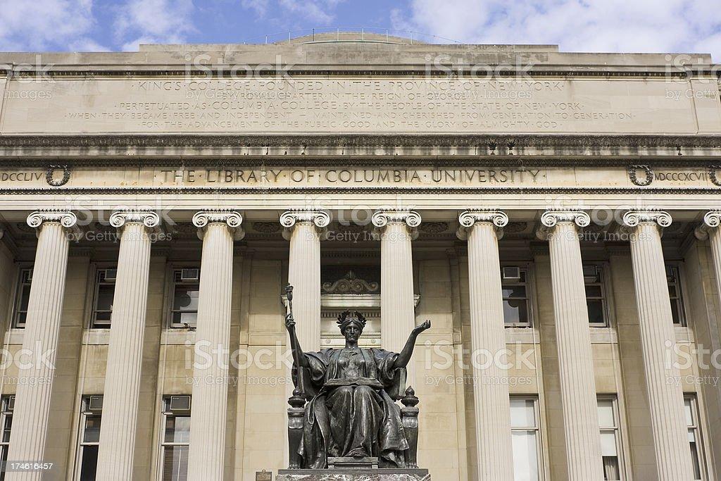 Columbia University New York # 1 stock photo