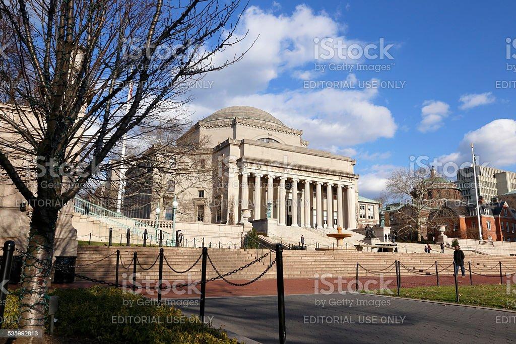 Columbia University stock photo