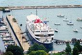 Columbia Yacht Club in Monroe Harbor, Chicago