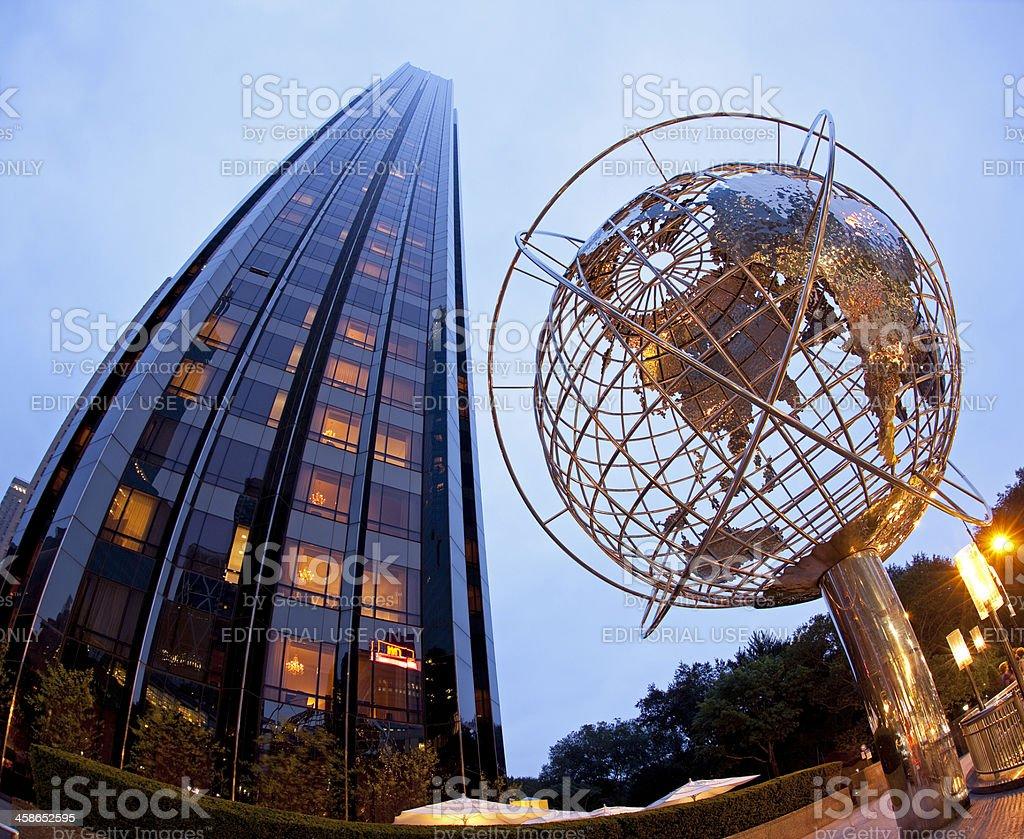 Columbus Circle in New York stock photo