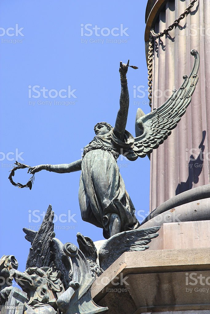 Columbus Column, Barcelona royalty-free stock photo