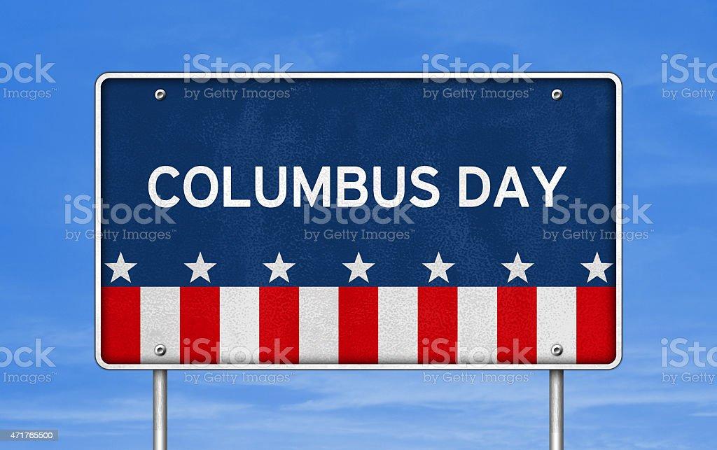 Columbus Day stock photo