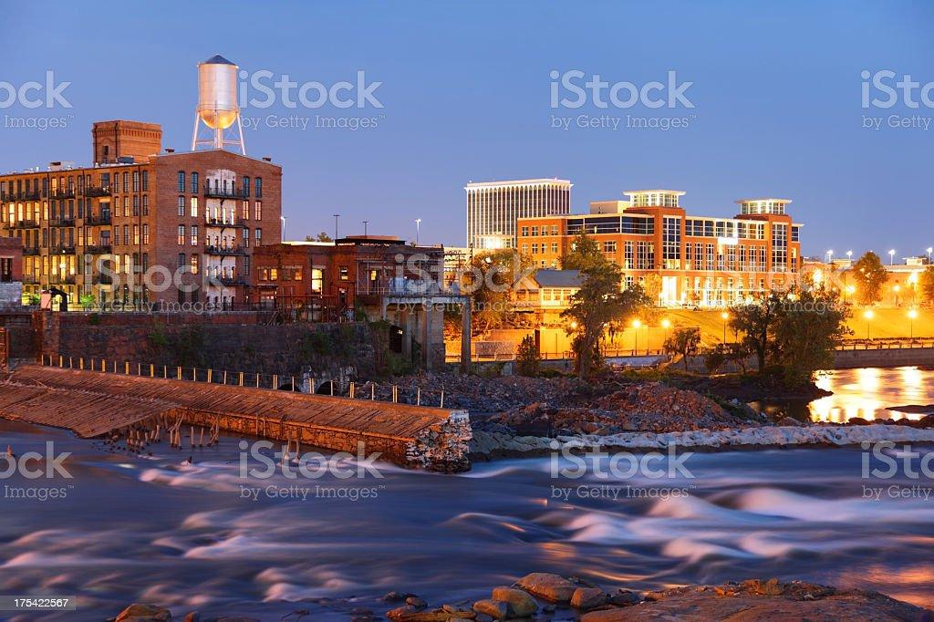 Columbus, Georgia royalty-free stock photo