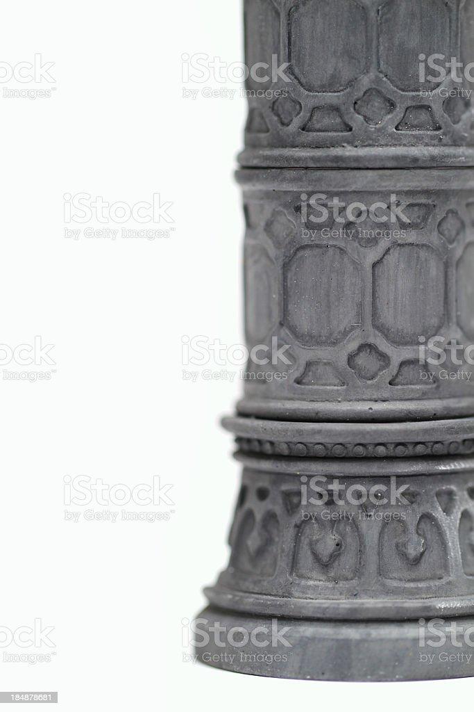 Column and White royalty-free stock photo