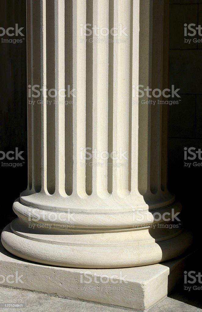 Column Base stock photo