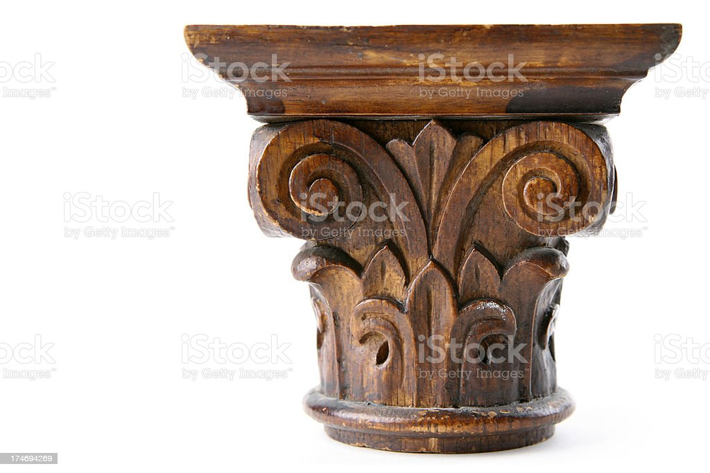 column capital royalty-free stock photo