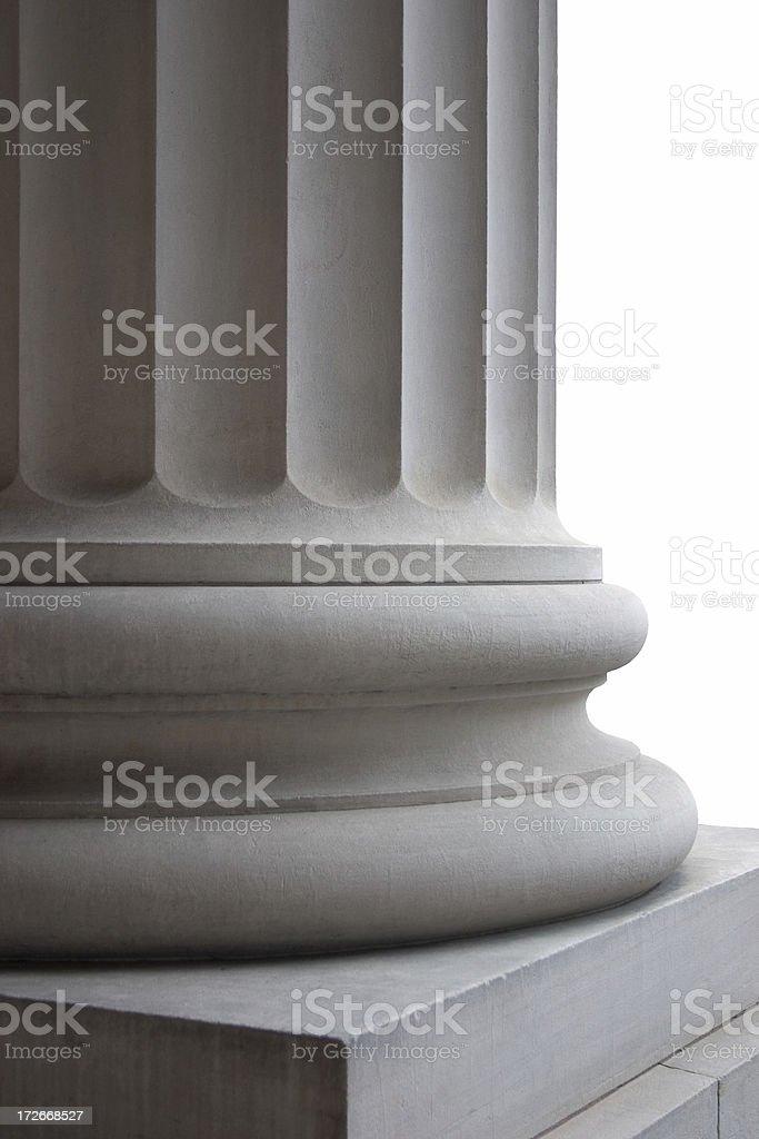 Column Detail royalty-free stock photo