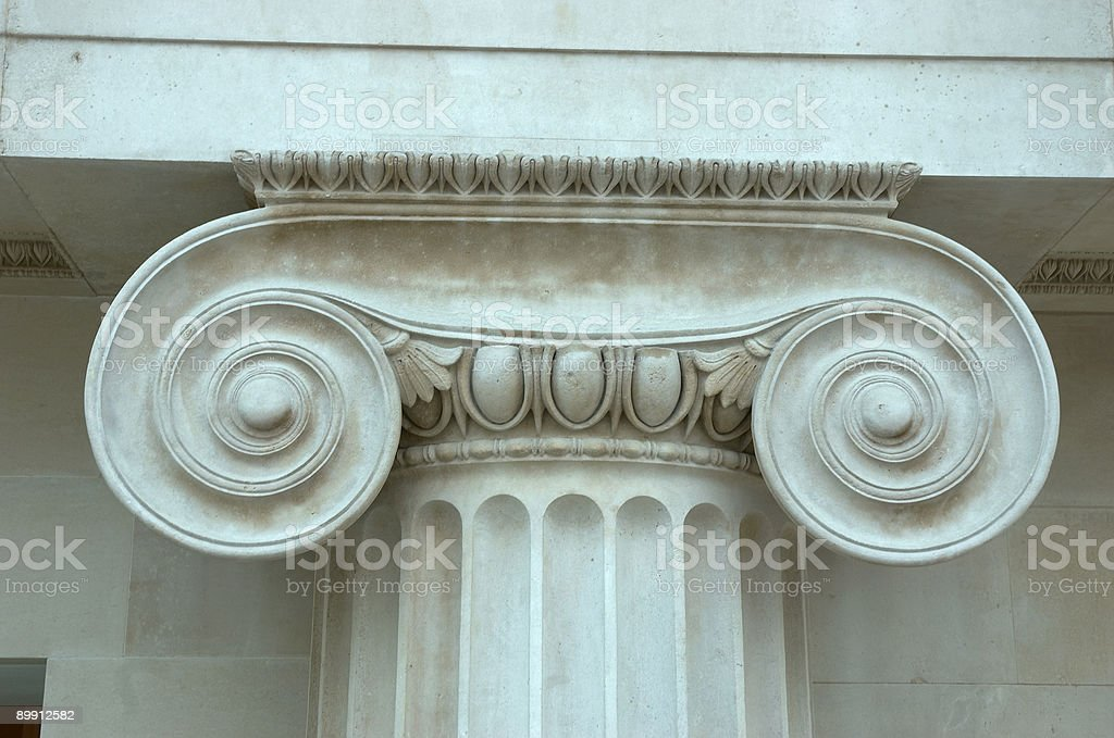 Column details royalty-free stock photo