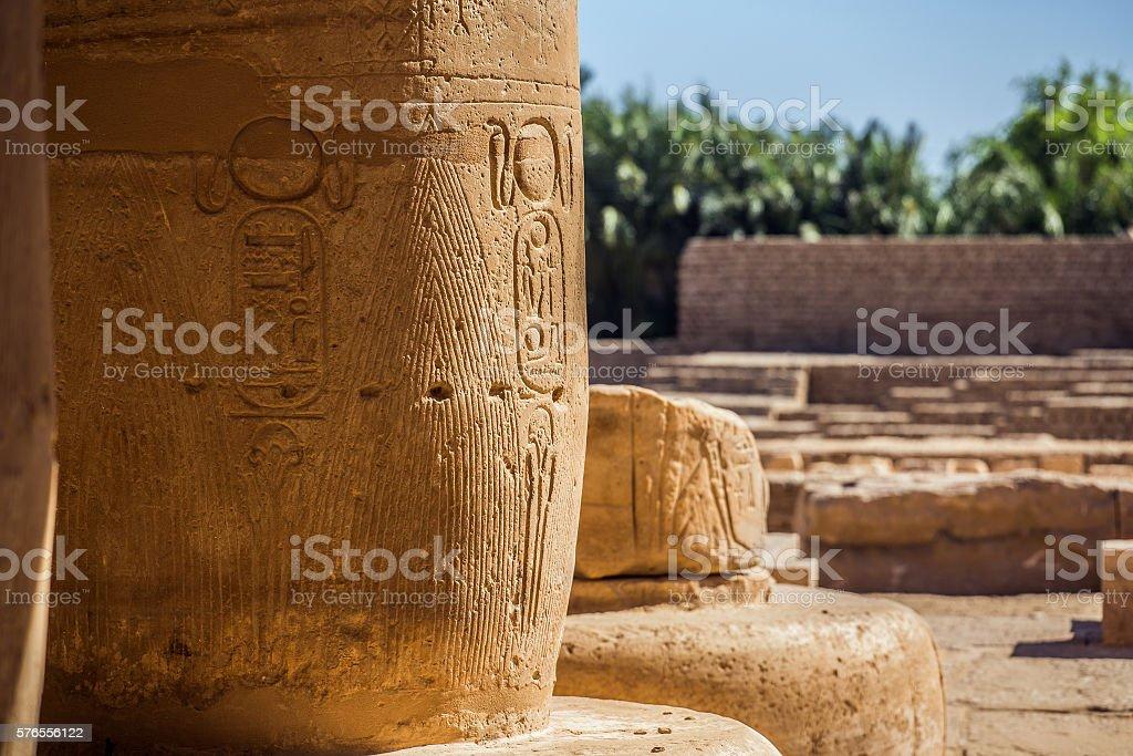 column egypt landscape stock photo