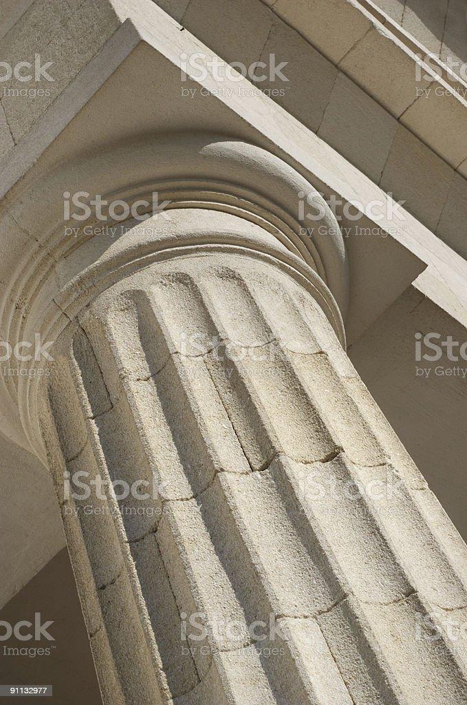 column fragment royalty-free stock photo