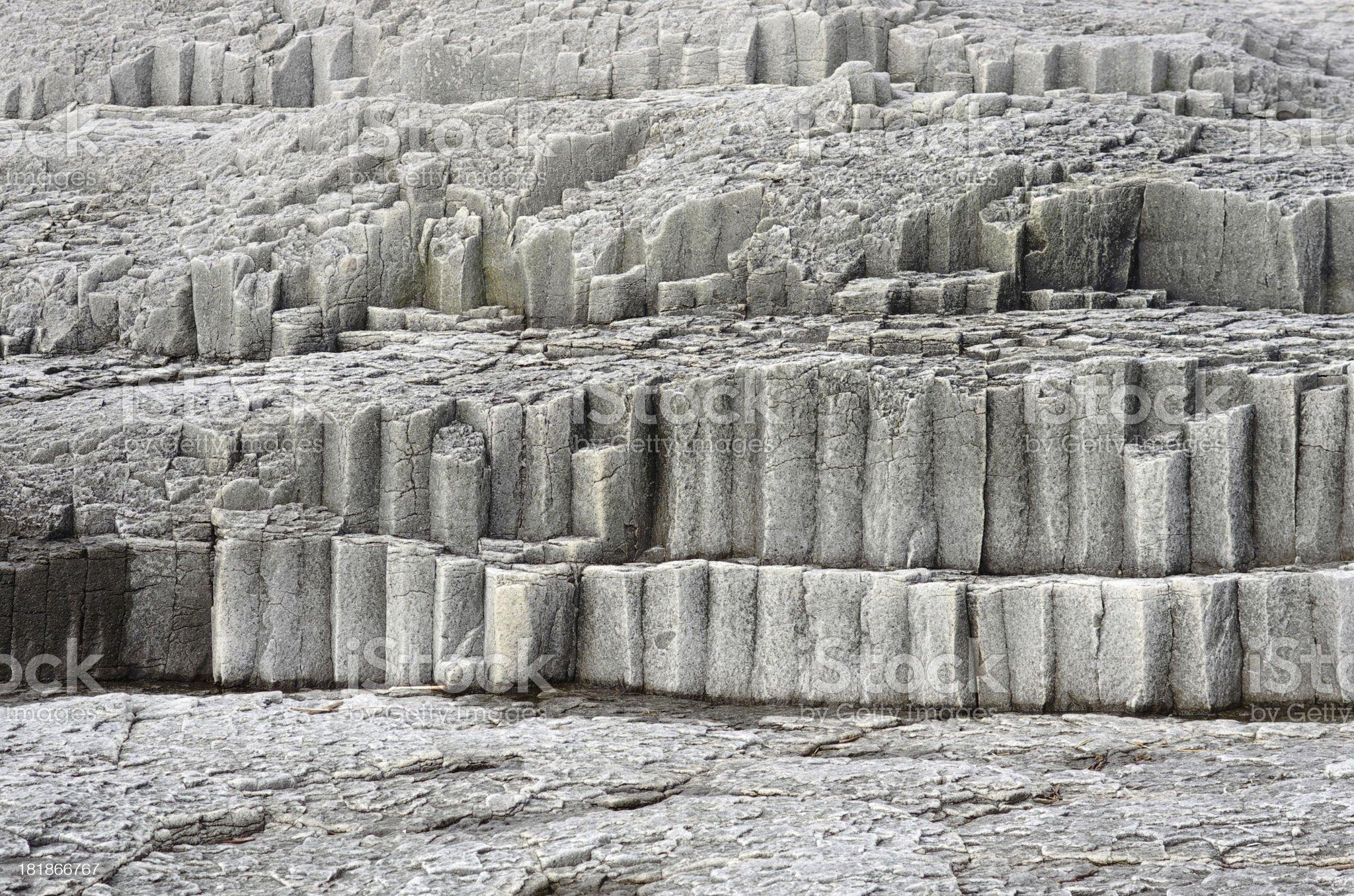 Column gray stone royalty-free stock photo