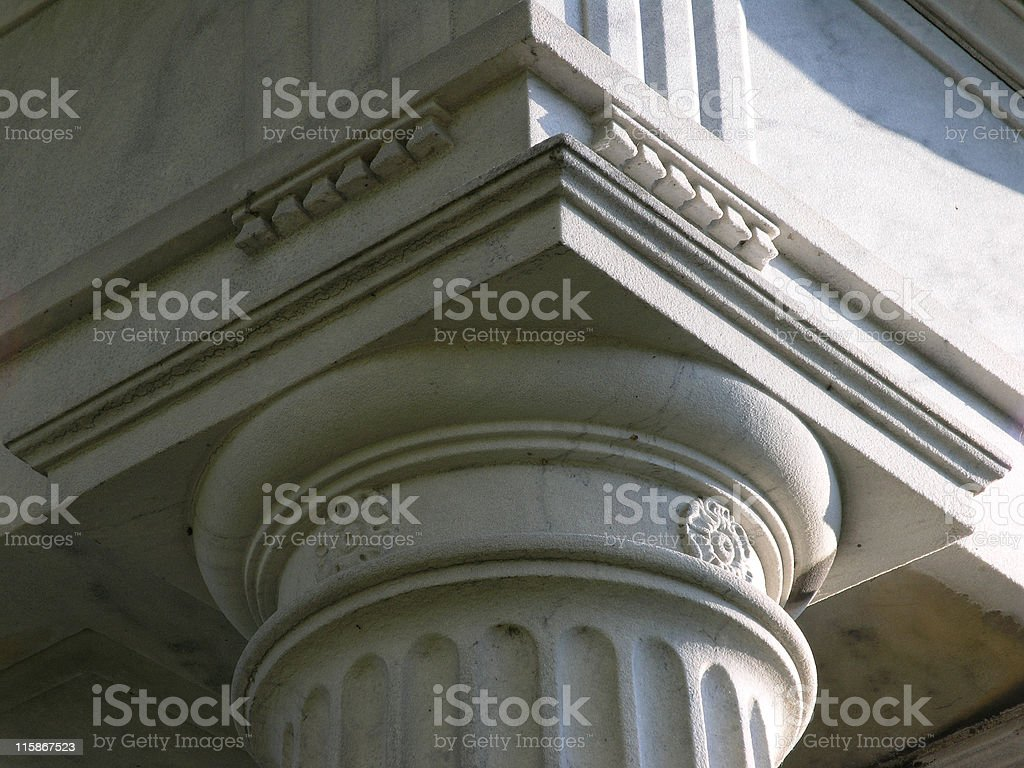 Column Head royalty-free stock photo