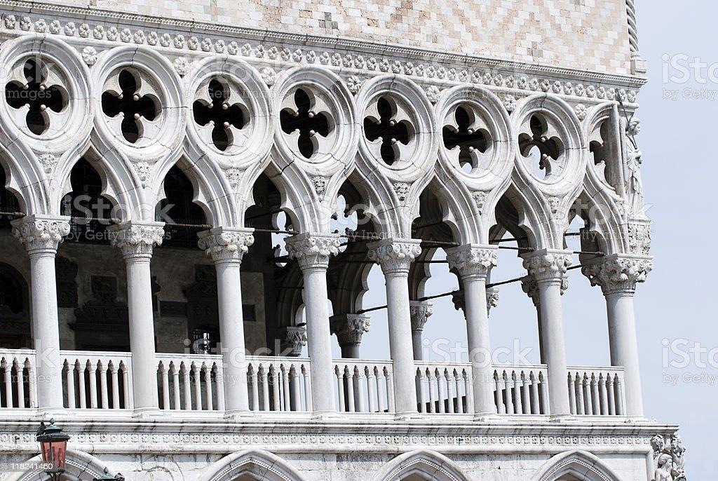 column in  Venice royalty-free stock photo