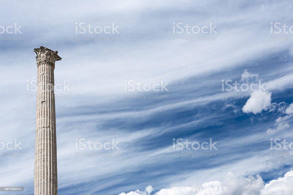 Column of Phocas stock photo