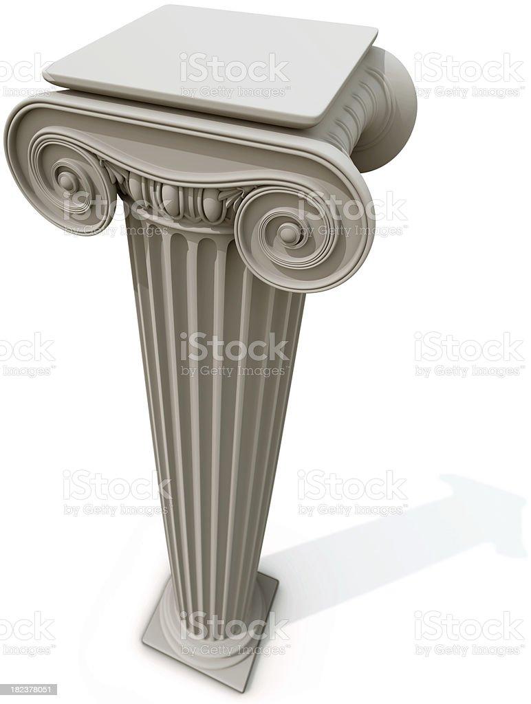 Column royalty-free stock photo