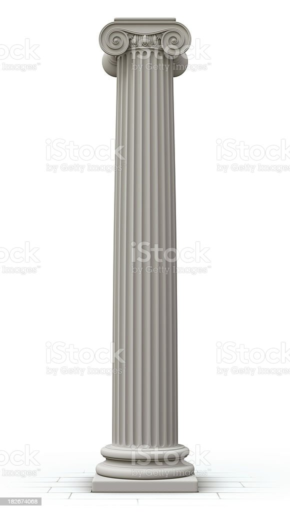 Column stock photo