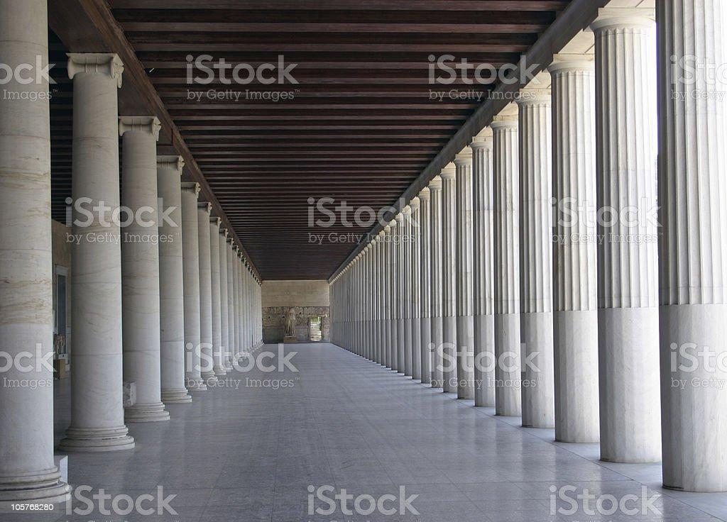 Column rhythm royalty-free stock photo