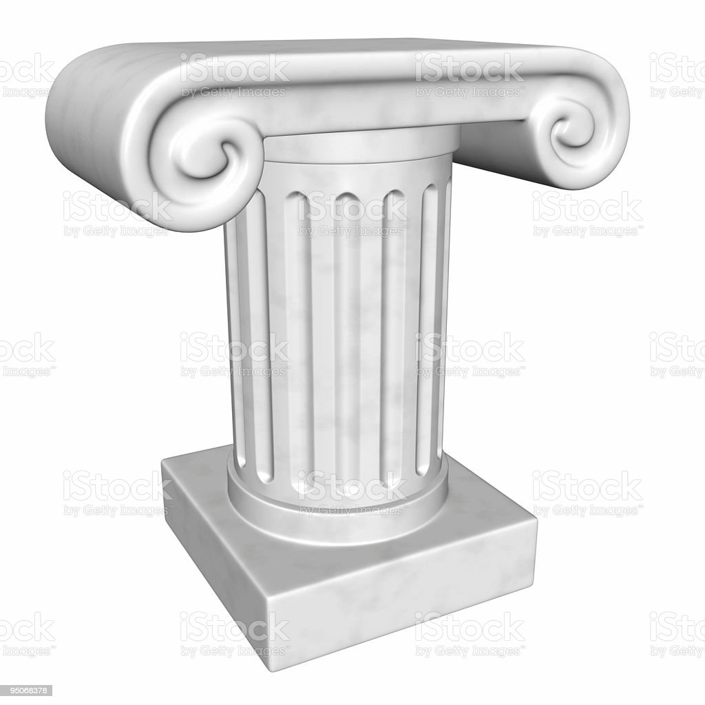 column stage royalty-free stock photo