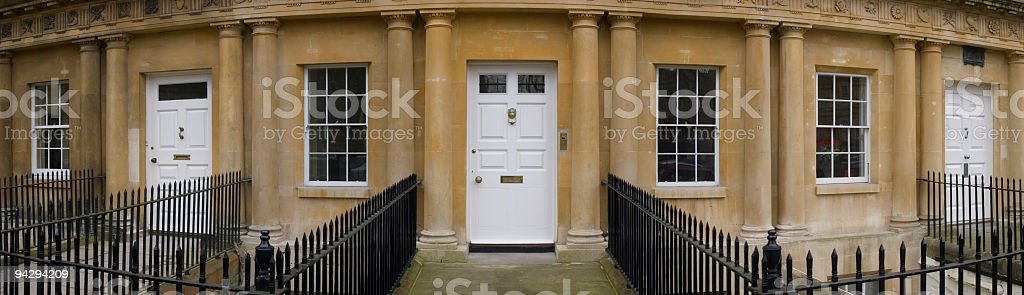 Columns and doors royalty-free stock photo
