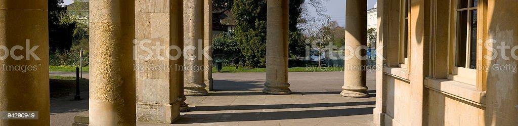 Columns and pillars royalty-free stock photo