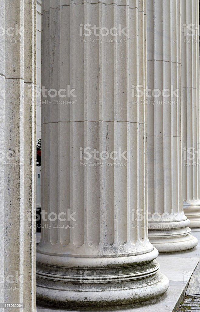 Columns close up. royalty-free stock photo
