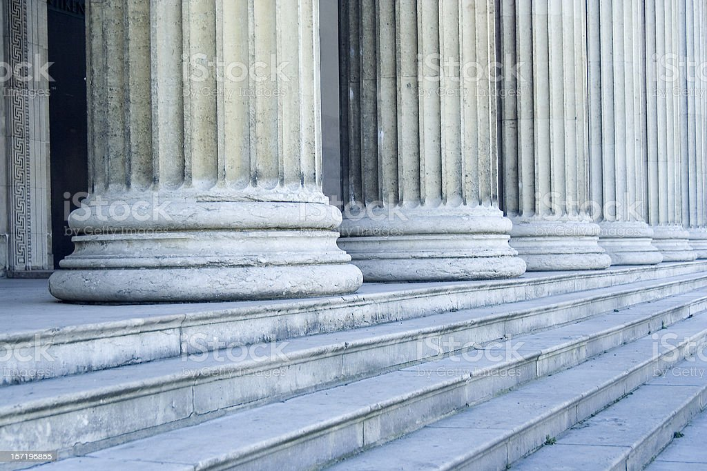 Columns royalty-free stock photo