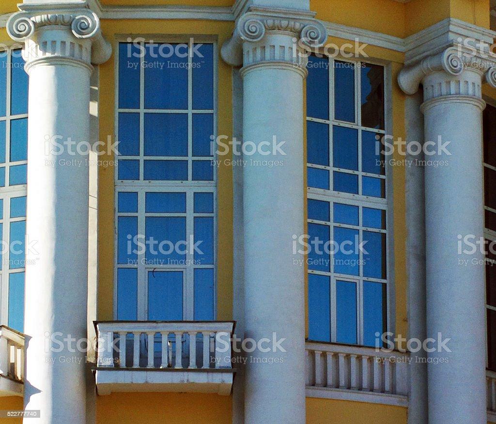 Columns. stock photo