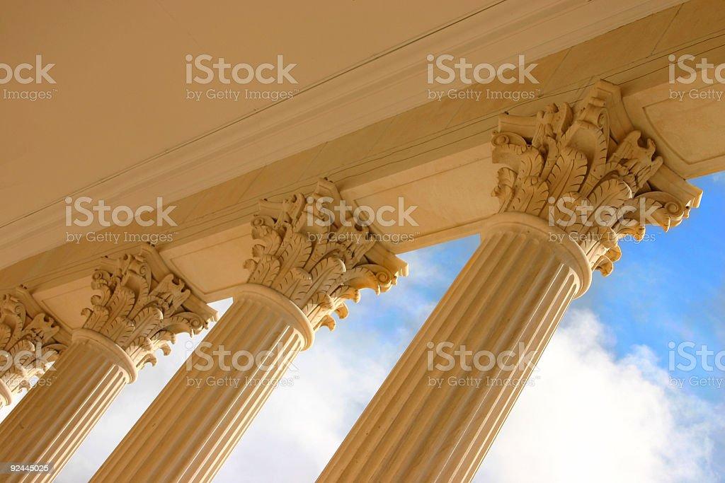 Columns royalty-free stock photo