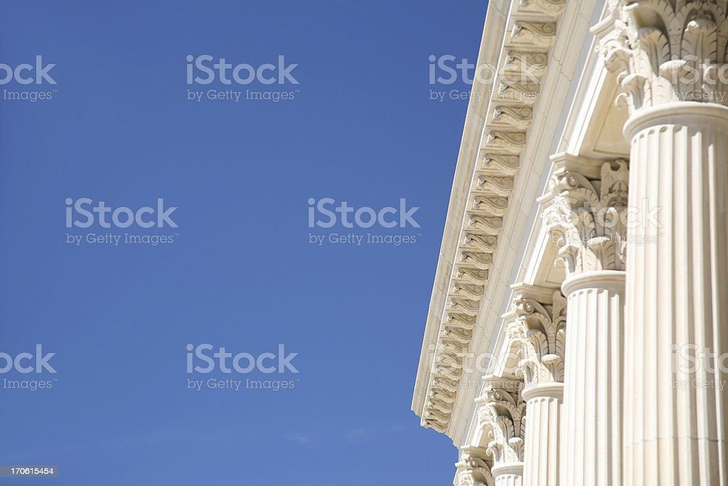 Columns with Space for Copy royalty-free stock photo